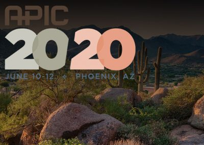 APIC 2020 (Association for Professionals in Infection Control & Epidemiology) – CANCELLED