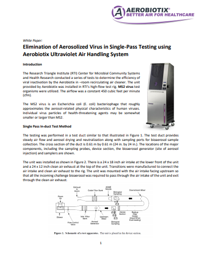 Get rid of viruses and bacteria in the air using HEPA and UV-C Illuvia HUAIRS PDF