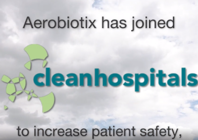 Aerobiotix joins Clean Hospitals, a Healthcare Environmental Hygiene Network