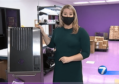 WHIO 7 Report: Improved Airborne Environments with the Illuvia HUAIRS